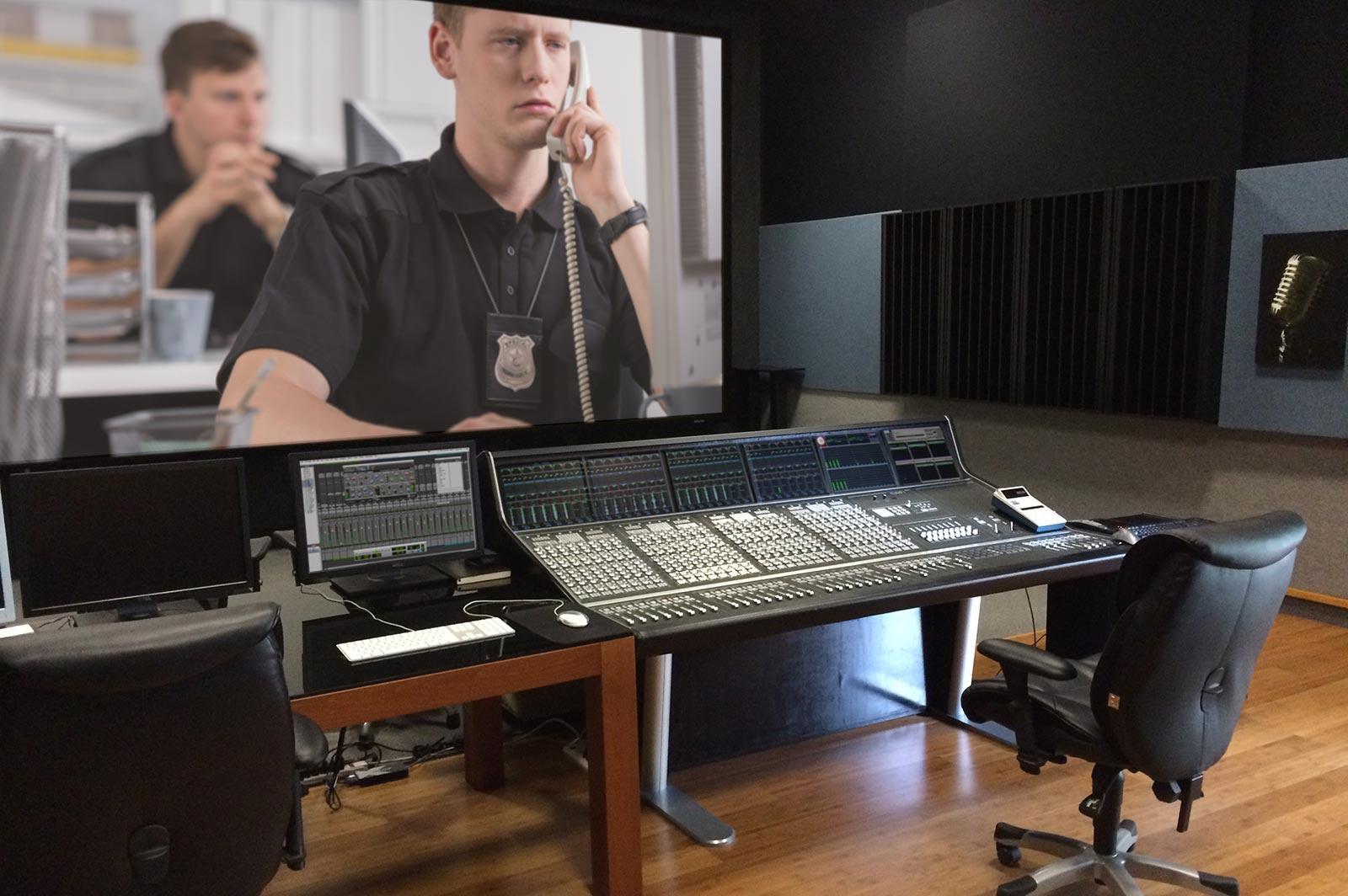 Paul Massey Control Room