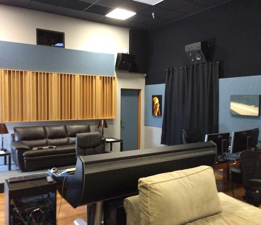 Paul Massey Control Room Rear