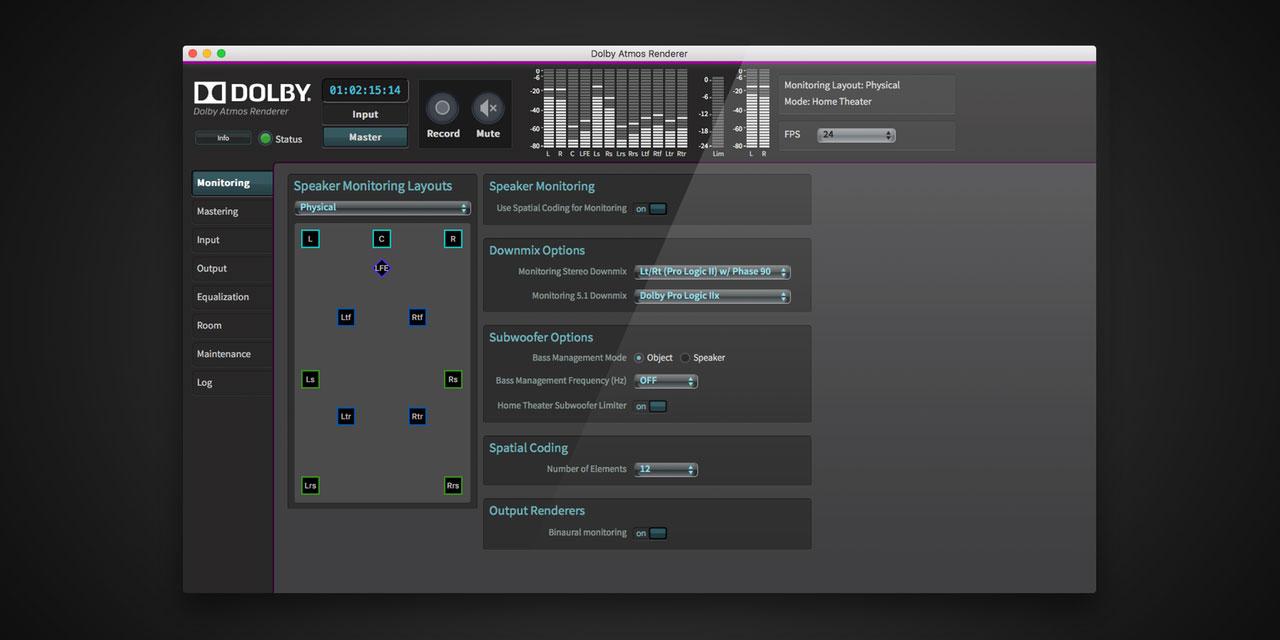 Dolby Atmos Renderer