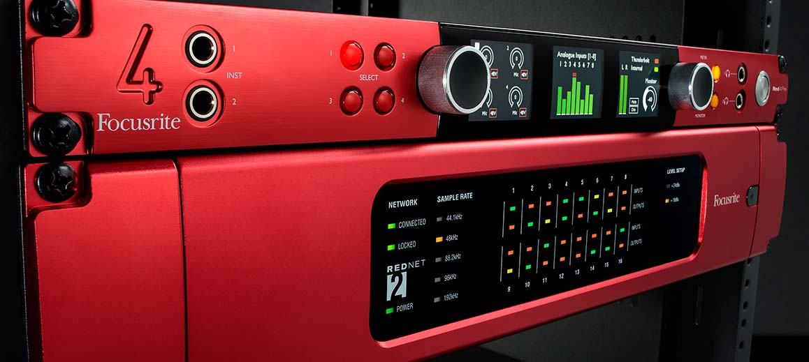 Focusrite Red Interfaces