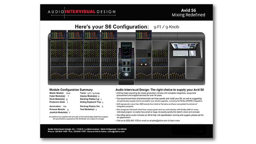 S6 Configuration PDF