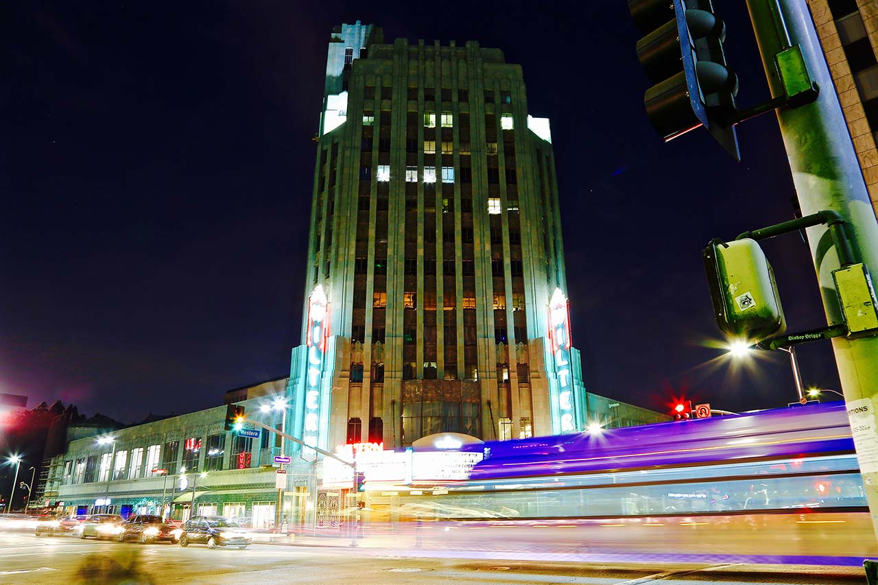 Wiltern Theater Tower