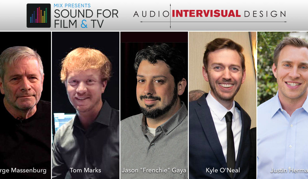 AID at Mix Sound for Film and TV at Sony Pictures Studios