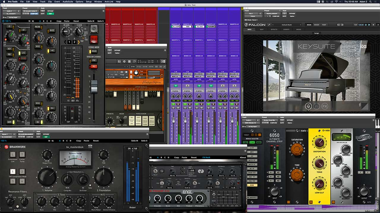 Pro Tools With Plugins