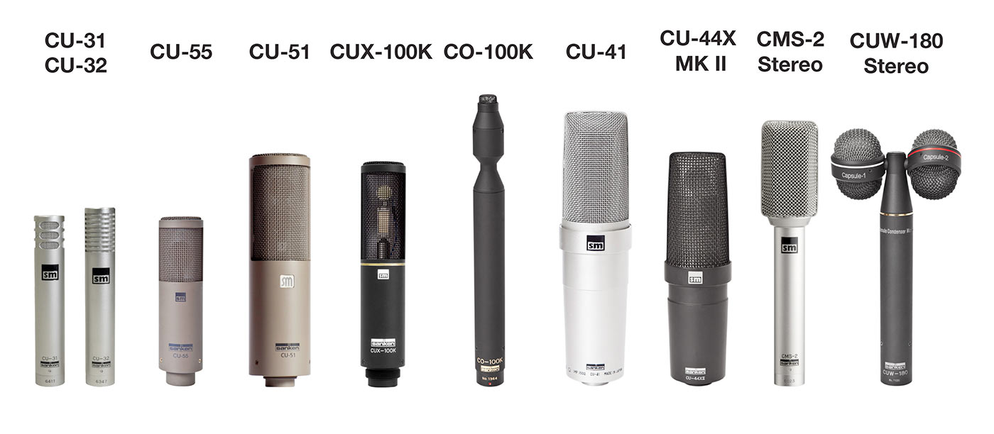 Sanken Chromatic 10 Professional Music Mics