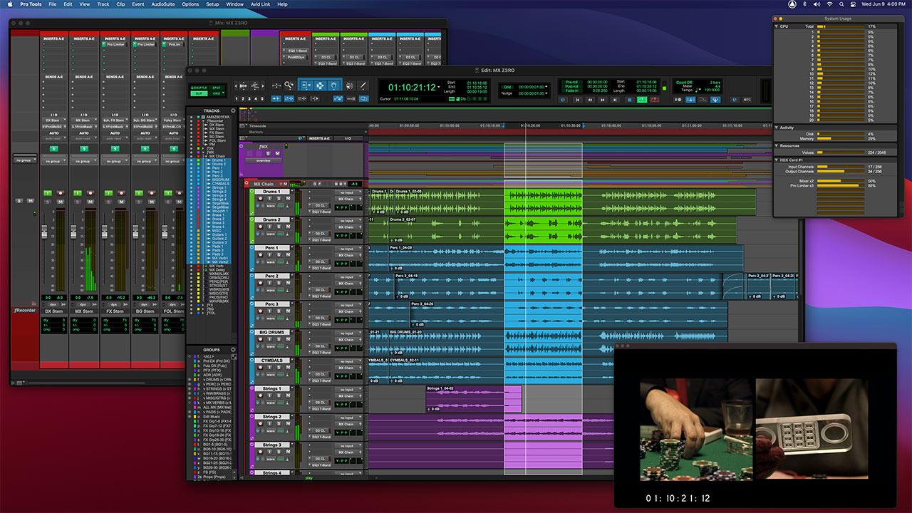 Pro Tools 2021.6 Screen